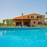 Villa Mercader is a nice country villa in Alcudia