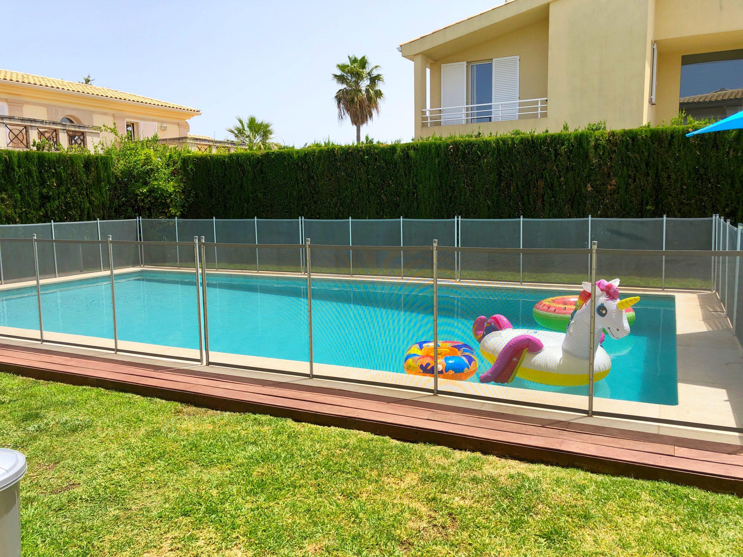 Gated pool - Villa rental in Puerto Pollensa