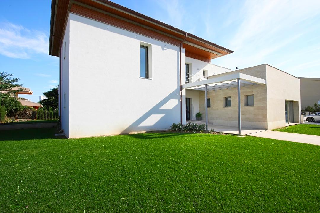 Villa rental in Puerto Pollensa - the garden