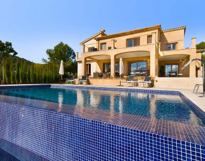 New build villa for rent near Pollensa, Mallorca