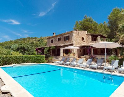 Can Seguinot is a nice villa in Puerto Pollensa