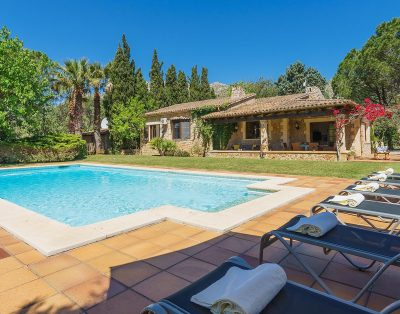 Reco Verd is a luxury country villa in Pollensa