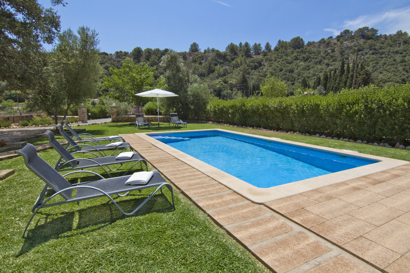 Can Bandris is a nice villa in walking distance of Pollensa