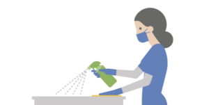 Our COVID cleaning and laundry protocols